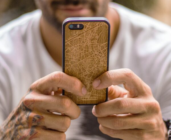 Funda iPhone mapa