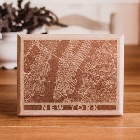 mapas de madera