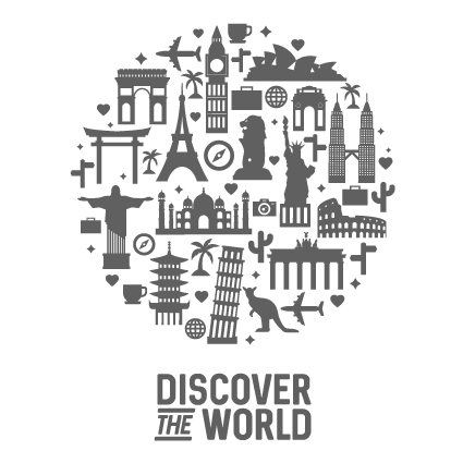 Diseño Discover the world