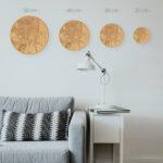 Mapas de madera de diferentes tamaños