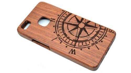 funda personalizada de madera