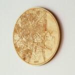 Mapa circular de Valencia